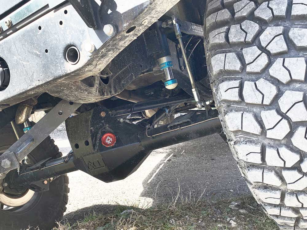 Alestimenti off-road Defender by ACE Offroad